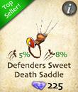 Defenders Sweet Death Saddle
