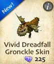 Vivid Dreadfall Gronckle Skin