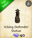 Viking Defender Statue