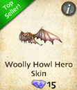 Woolly Howl Hero Skin