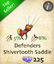 Defenders Shivertooth Saddle