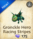 Gronckle Hero Racing Stripes