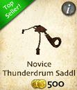 Novice Thunderdrum Saddle