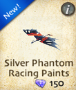 Silver Phantom Racing Paints