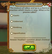 Scrubbed clean quiz
