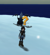 Hunter in the blizzard (1)