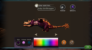 Skrillknapper oricolors