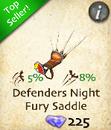Defenders Night Fury Saddle