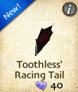 Toothless' Racing Tail
