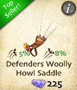 Defenders Woolly Howl Saddle