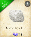 Arctic Fox Fur