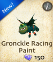 Gronckle Racing Paint