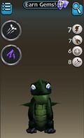 Store dragon info