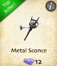 Metal Sconce