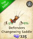 Defenders Changewing Saddle