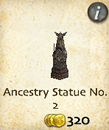 Ancestry Statue No. 2