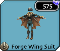 Forge wing suit