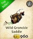 Wild Gronckle Saddle