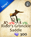 Rider's Gronckle Saddle