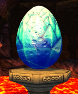Shivertooth egg
