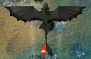 Tooth wingspan