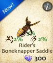 Rider's Boneknapper Saddle