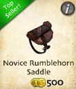 Novice Rumblrhorn Saddle