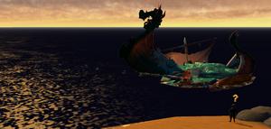 Icestorm jip broken ship