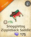 Snoggletog Zippleback Saddle