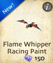 Flame Whipper Racing Paint