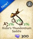 Rider's Thunderdrum Saddle