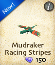 Mudraker Racing Stripes