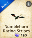 Rumblehorn Racing Stripes