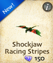 Shockjaw Racing Stripes