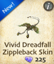 Vivid Dreadfall Zippleback Skin