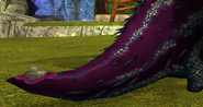 Buff tail