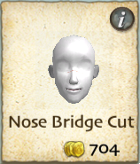 Nose Bridge Cut