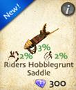Riders Hobblegrunt Saddle