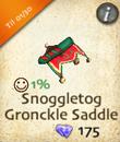Snoggletog Gronckle Saddle