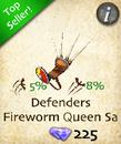 Defenders Fireworn Queen Saddle
