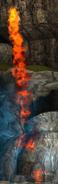 Dramil fire close