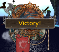 Battle victory
