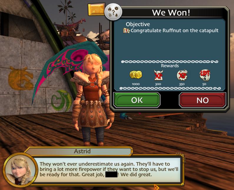 We Won!   Dreamworks School of Dragons Wiki   Fandom