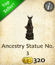 Ancestry Statue No. 3