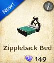 Zippleback Bed