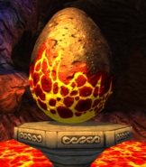 Thunderpede egg