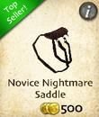 Novice Nightmare Saddle