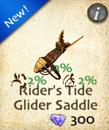 Rider's Tide Glider Saddle