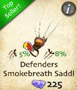 Defenders Smokebreath Saddle