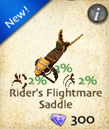 Rider's Flightmare Saddle